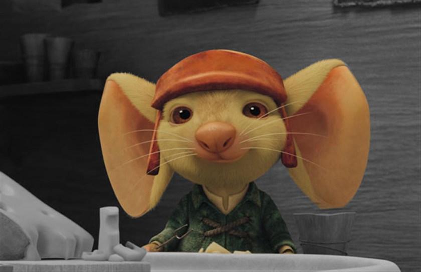 muis in bioscoop