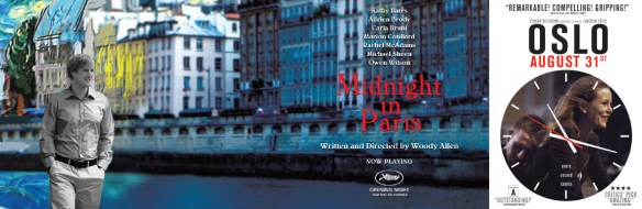 Onze TV TIP: Midnight in Paris en Oslo, 31. August