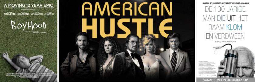 Boyhood, American Hustle en De 100-Jarige Man Die Uit het Raam Klom en Verdween