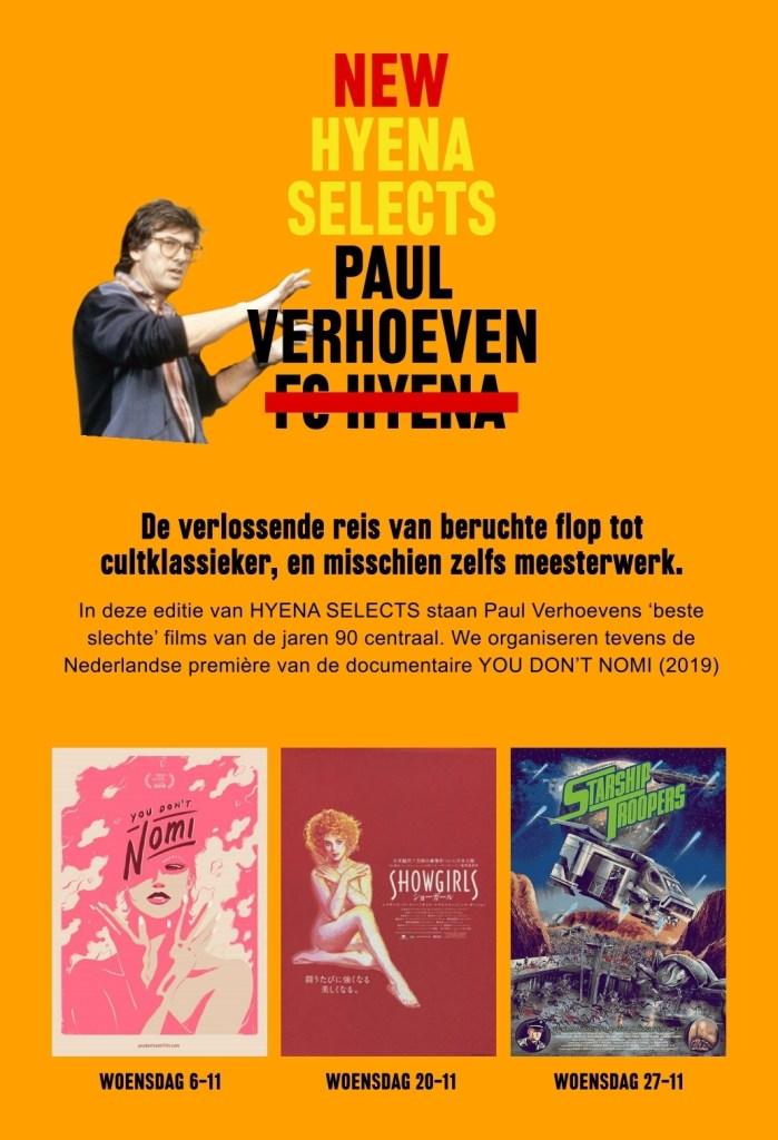 Hyena Selects: Paul Verhoeven