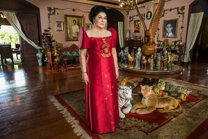 recensie The Kingmaker, Imelda Marcos