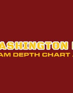 Washington redskins depth chart analysis also live rh depthcharts