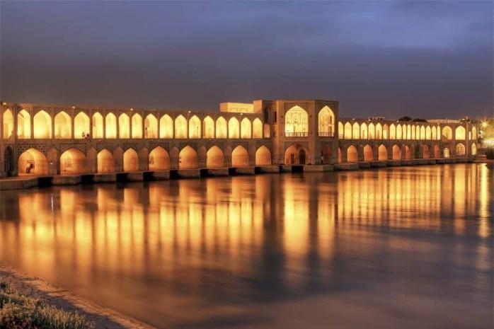 khaju-bridge-ishafan-iran