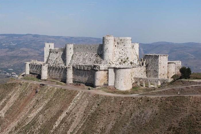 krak-des-chevaliers-crusader-castles