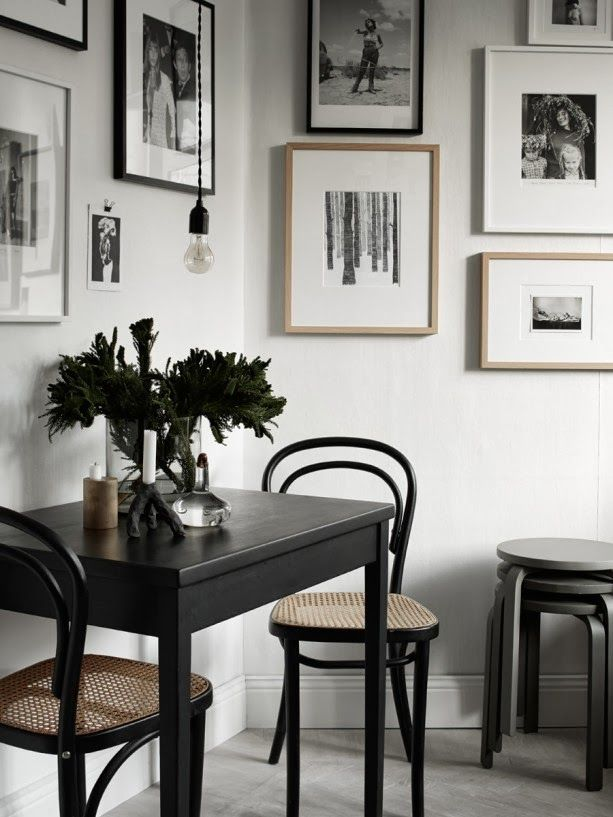 Mesas de comedor pequeñas - Depto51 Blog