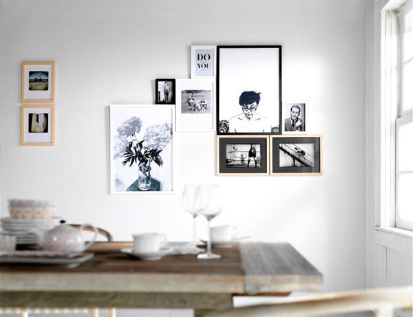Decorar con cuadros en blanco y negro  Depto51 Blog