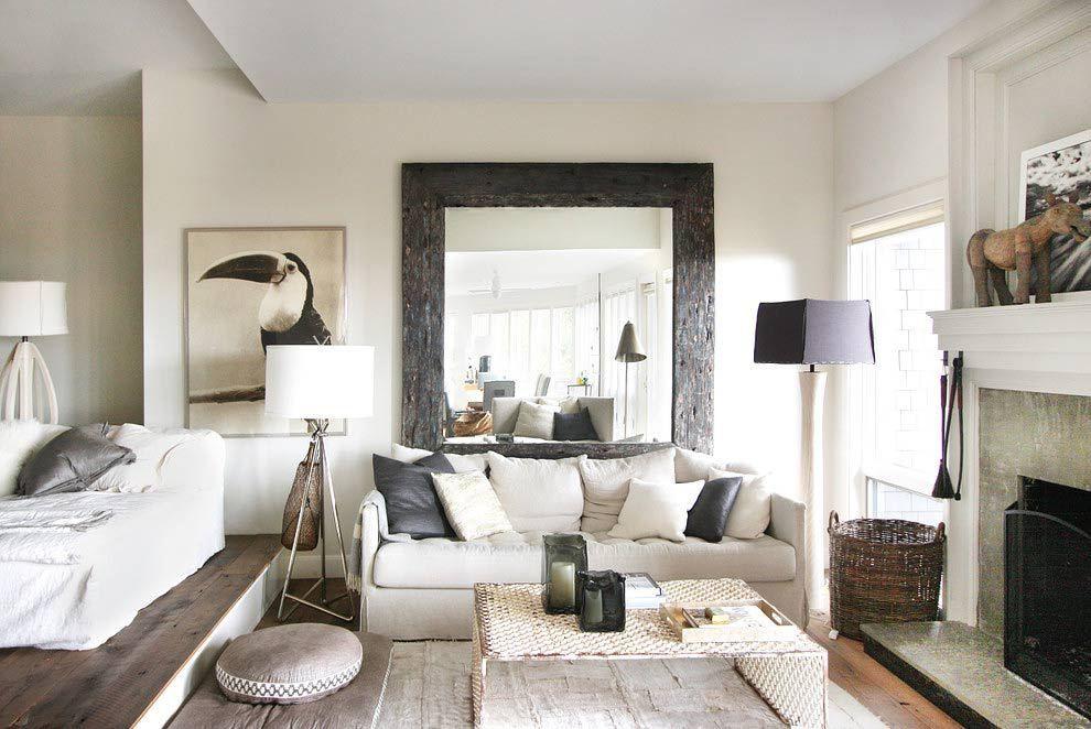 Interiores de casas decoracin con muebles rsticos