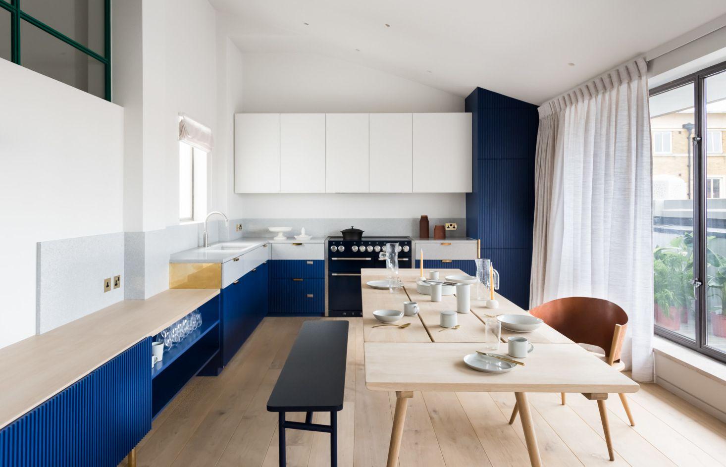 Diseo de interiores de departamentos minimalistas y
