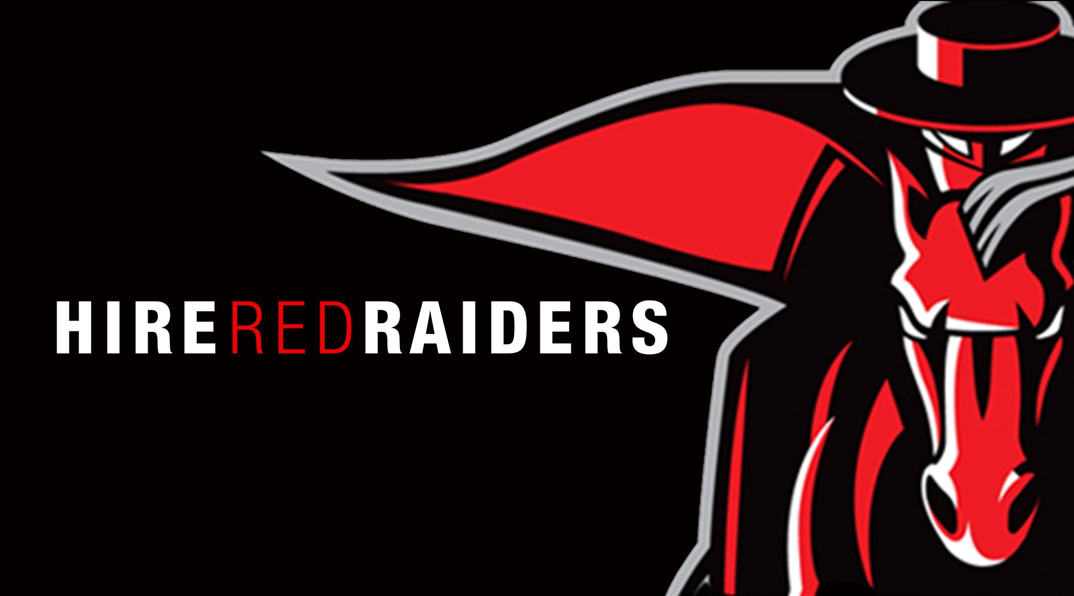 Hire Red Raiders University Career Center TTU