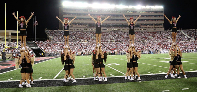 AllGirl Cheer Tryouts  Texas Tech Spirit Program