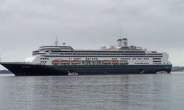 En el MS Rotterdam