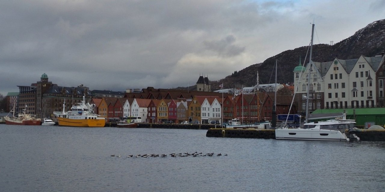 Un paseo invernal por Bergen