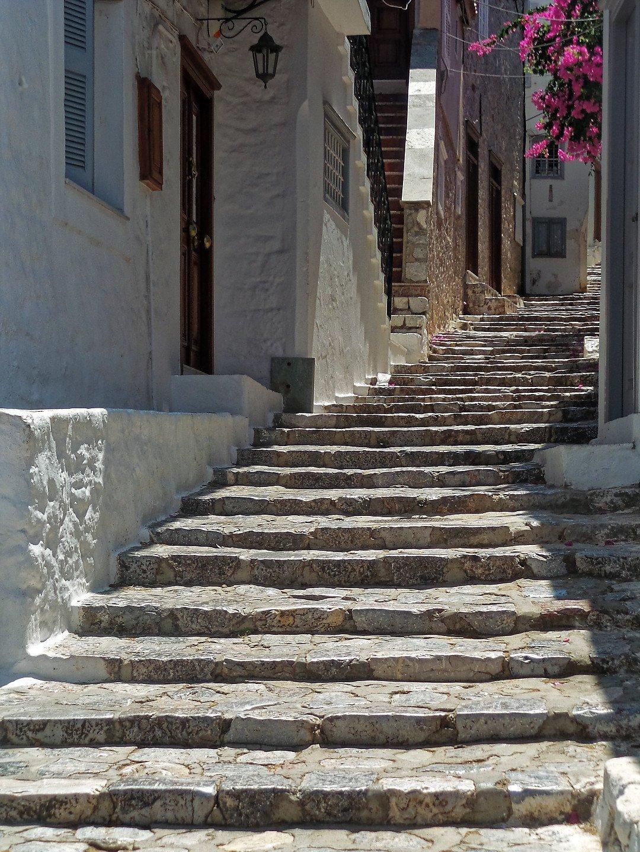 Escaleras en Hydra