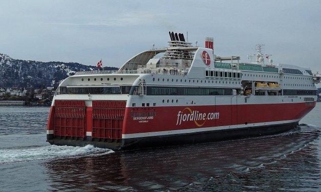 En el MS Stavangerfjord