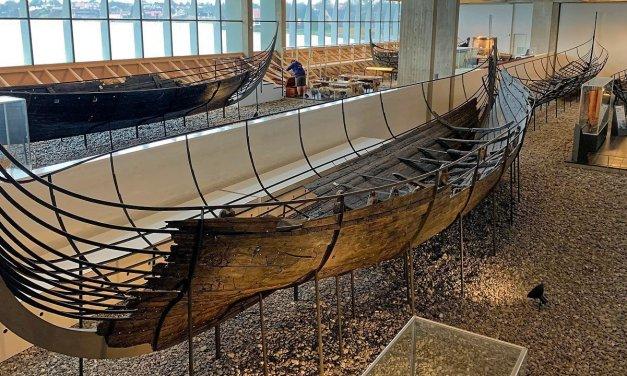 El Museo de Barcos Vikingos de Roskilde
