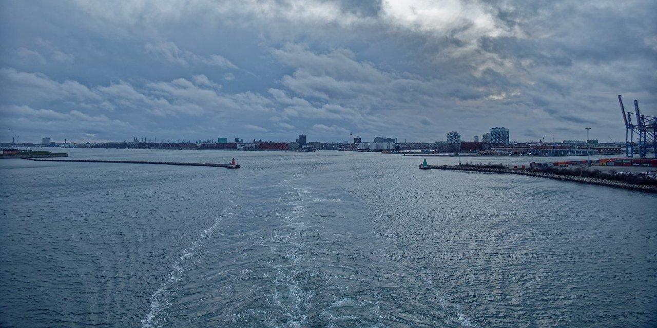 Zarpando de Copenhague
