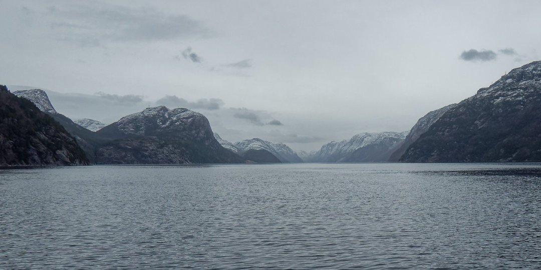 El Lysefjord hacia Lysebotn