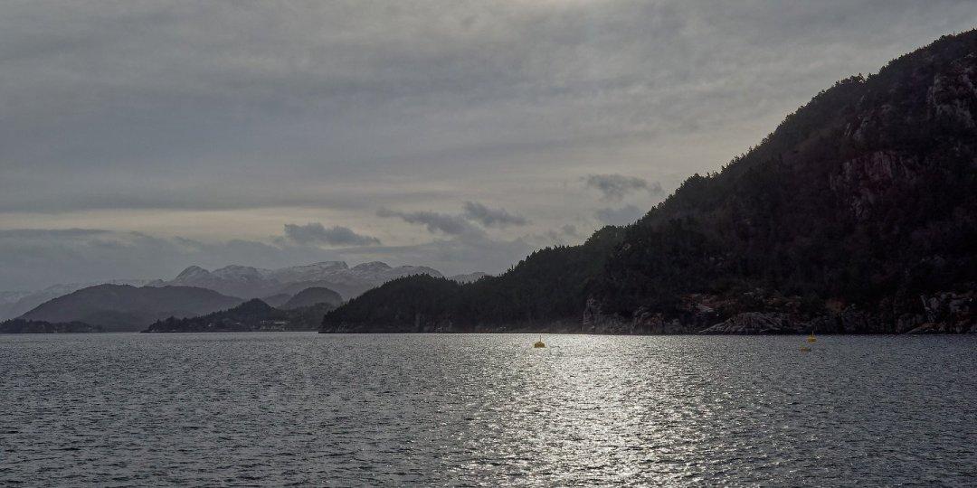 Entrando al Høgsfjorden