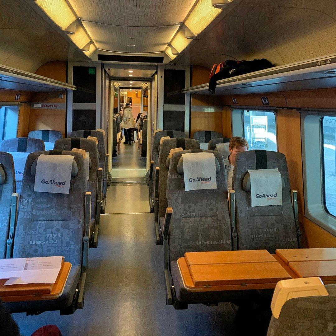 Vagón de clase Komfort