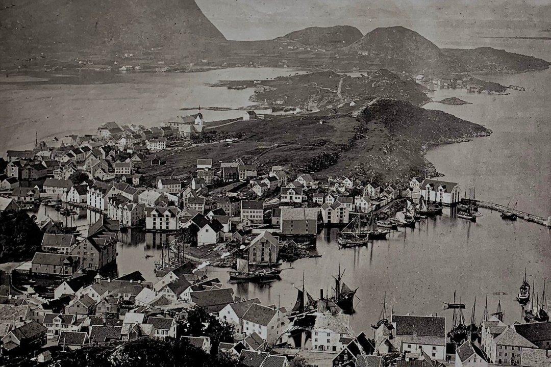 Ålesund en 1879