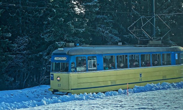 Gråkallbanen, el tranvía más septentrional del mundo