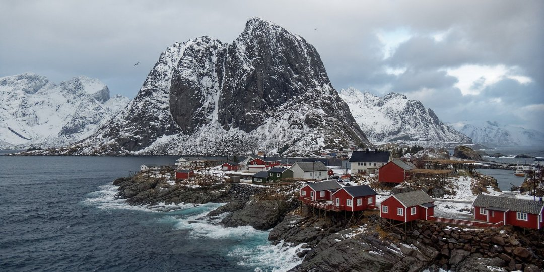 Desde el puente de Hamnøy