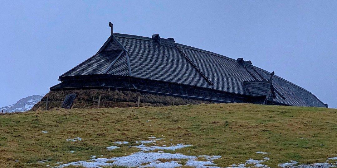 El museo vikingo de Lofotr