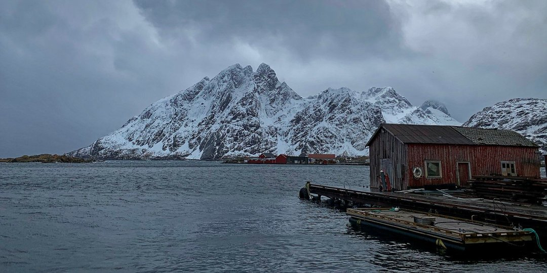 Un caprichoso día de invierno en las Lofoten