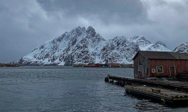 Un caprichoso día de invierno en las islas Lofoten