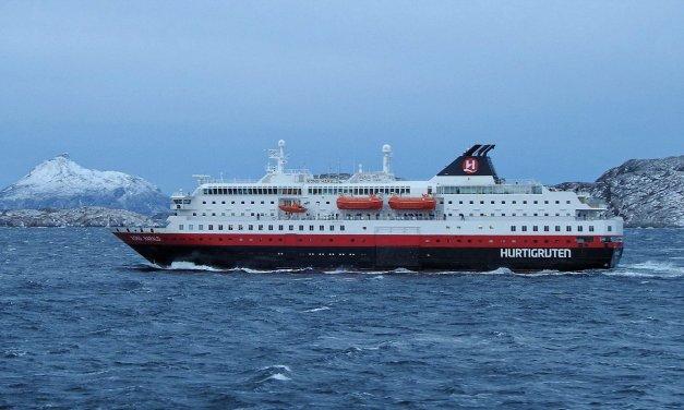 En el MS Kong Harald