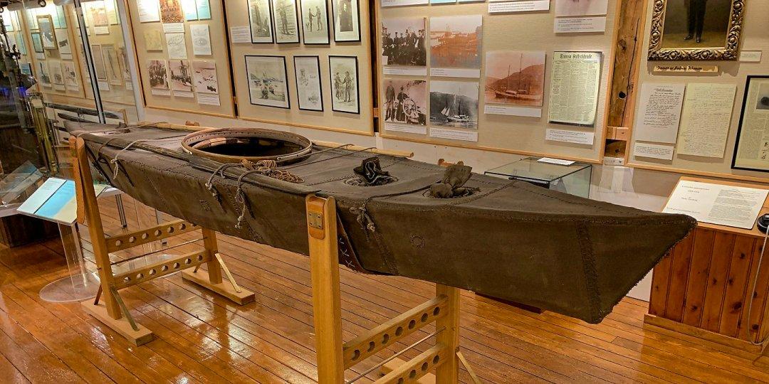 Kayak utilizado por Nansen
