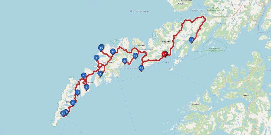 Road-trip Lofoten