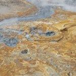 El área geotermal de Seltún