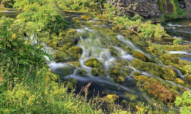 Gjáin, un oasis en las Tierras Altas