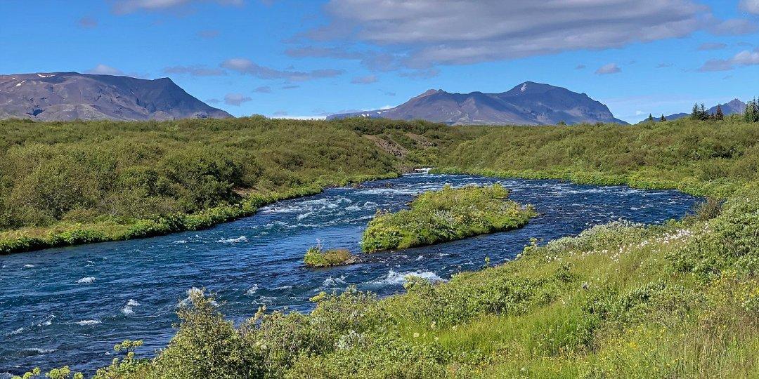 Río Brúará en las proximidades del aparcamiento