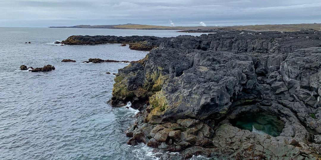Rocas junto a Brimketill