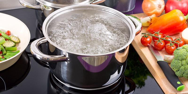 L'acqua buona ottenuta dai depuratori viene anche utilizzata per preparare cibo