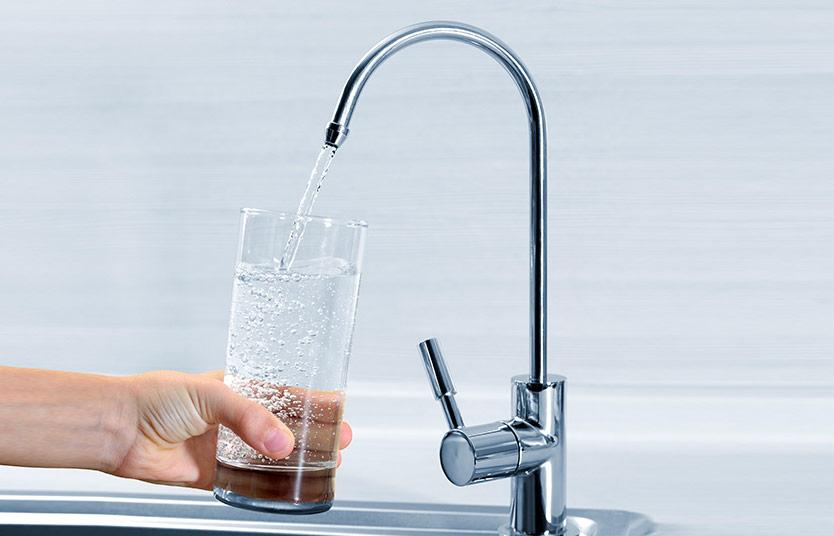 acqua buona dal rubinetto di casa con un depuratore a osmosi inversa