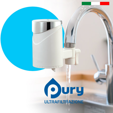 purificatore per acqua da rubinetto