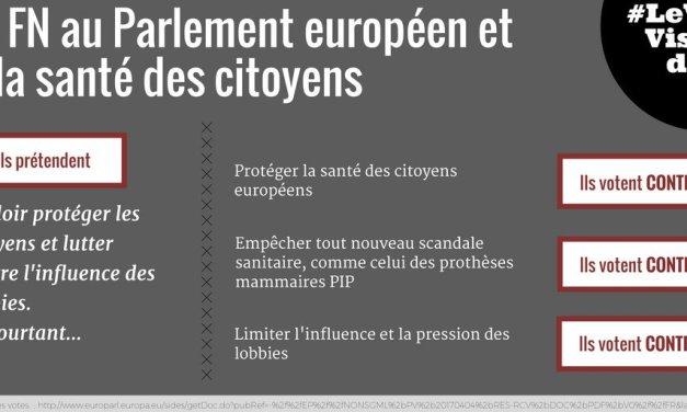 Le FN au Parlement européen et… la santé des citoyens