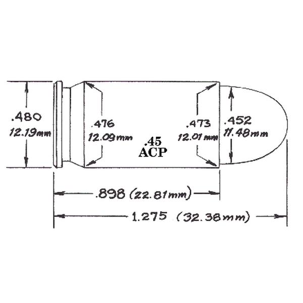 .45 ACP diagram