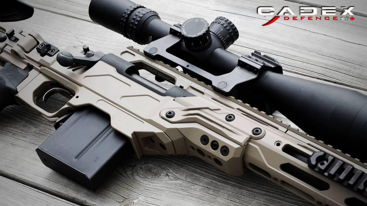 ARMSLIST - For Sale: Cadex Defense Lite Strike Chassis