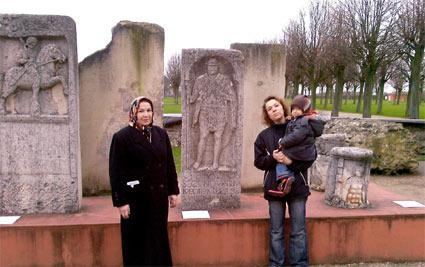 Grabstein des römischen Legionärs Secundus