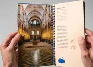 Schön gestaltete Innenseite mit großformatiger Illustration. Foto: Peter Sierigk