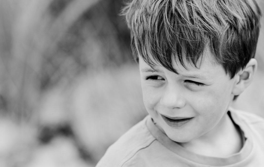 Mein Junior in Schwarz/Weiß 2