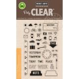 My Week - Hero Arts Clear Stamps Set - zum Schließen ins Bild klicken