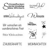 """Clear Stamps """"Weihnachten / Winter"""" - zum Schließen ins Bild klicken"""