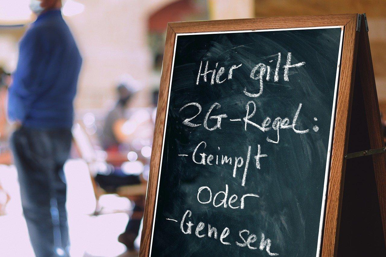 2G-Regeln in Deutschland