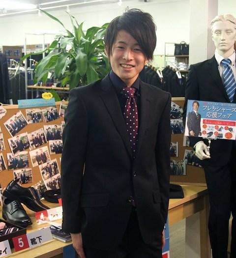 フレッシャーズ 入学 入社 就活 初めてのスーツ オシャレ