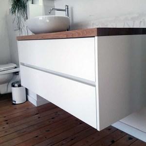 DERASUN badkamermeubel op maat zwevend